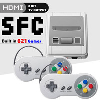 8 Bit Super Mini HDMI Family TV SNES Video Game Console Retro Classic HDMI HD Output TV Handheld Game Player Built in 621 Games