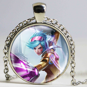 Vintage LOL game necklaces jewelry Cartoon Martial Arts Necklaces pendants Best Gifts Gaming Enthusiasts gifts Fashion pendant лол блинг