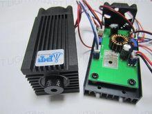DIY Высокая Мощность Лазерного Фокус 450nm 445nm2000mW 2 Вт Модуль Синий Лазерный Диод, DC: 12 В, отрегулируйте Фокус для лазерной резки и гравировки