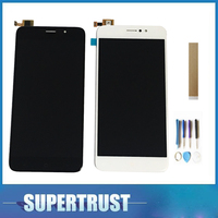 For TP LINK Neffos C7 LCD Display With Touch Sensor Glass Digitizer Assembly with black white with Tools Tape