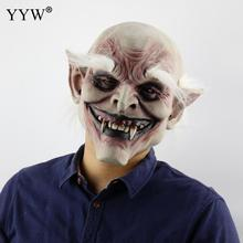 Vampire Horror Mask Scary Halloween Masks Man Realistic Latex Maske Mascara Cosplay Terror Props Party Masque Decor