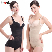 3aa0639913b Innsly Bodyshaper Women Bodysuits Female Corset Waist Trainer Mesh Smooth  Body Shapewear Ladies Corrective Shaper Seemless · 2 Colors Available
