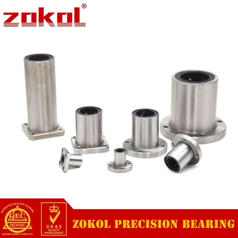 ZOKOL bearing LMK50UU Square flange linear motion bearing 50*80*100mm zokol lmf25 uu bearing lmf25uu round flange linear motion bearing 25 40 59mm