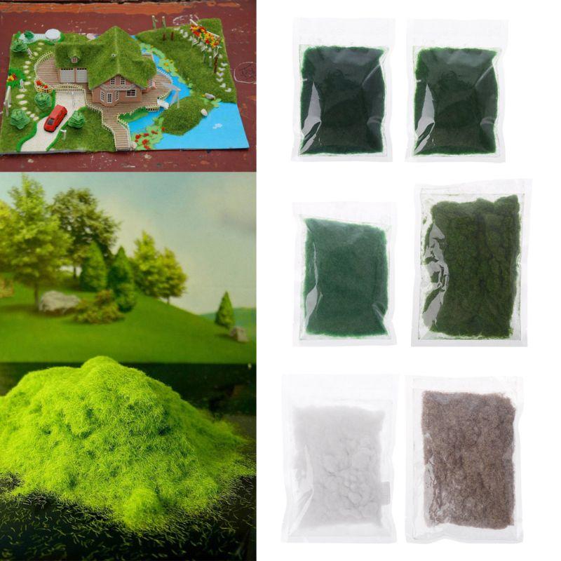 1Bag 30g Artificial Grass Powder Micro Fairy Garden Landscape Lawn Decor DIY Accessories