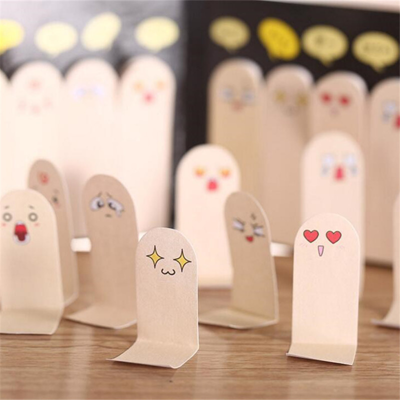 10 Fingers/Pack NoveLty Finger Schedule Marker Sticky Notes Self-Adhesive Memo Pad Daily Notepads #026 Bookmark Post it Label