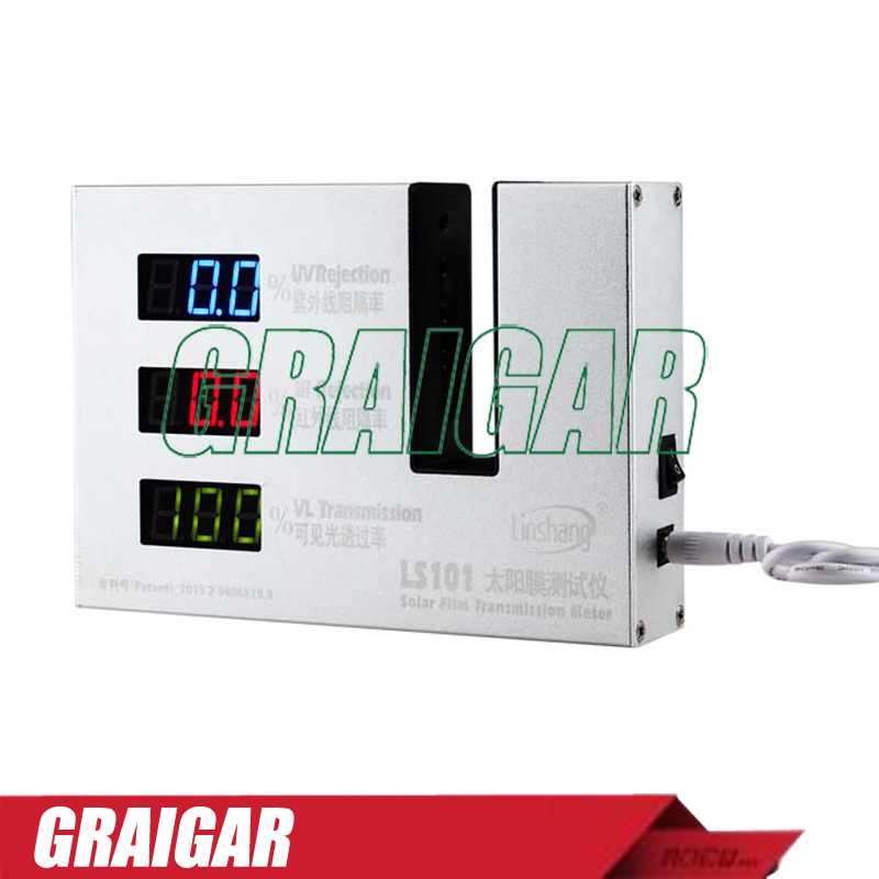 Fast Shipping LS101 Solar Film Transmission Meter With  550nm VL Peak wavelength