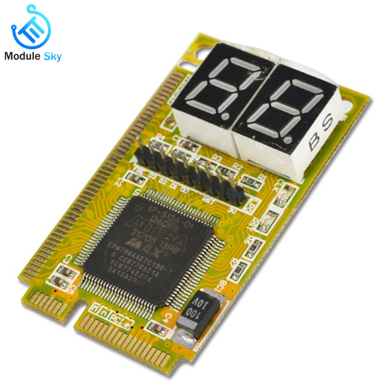 3 in 1 Mini PCI-E LPC PC Analyzer Tester POST Card Test For Notebook Laptop New Arrival3 in 1 Mini PCI-E LPC PC Analyzer Tester POST Card Test For Notebook Laptop New Arrival