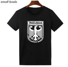 Deutschland German Flag Crest Germany Eagle T Shirt  Funny Tops Tee Shirts Harajuku T-shirt Mens Womens US Size
