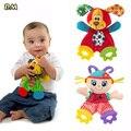1 PC Pacificar Mordedor Bebê Infantil Animais Bonecas Toalha Do Bebê Dentição Desenvolvimento Brinquedos Do Cão Leão