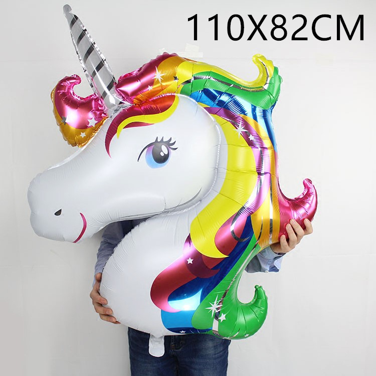 Birthday Party Decorations Kids Foil Horse Balloons New