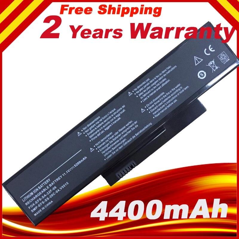 Laptop Battery For Battery FOR Fujitsu- V5515 V5535 V5555 V6555 Fujitsu ESPRIMO Mobile V5535