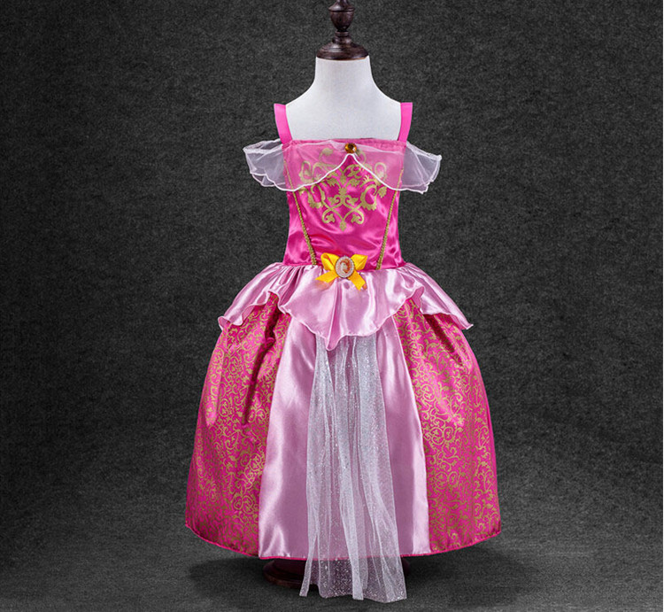 Original Princess Snow White Cinderella Dresses Costumes: Fashion Baby Girls Dress Cinderella Dresses Children Snow