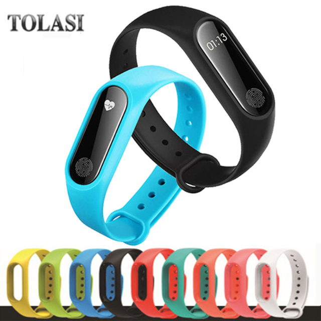 For Xiaomi Mi Band 2 Bracelet Strap Miband Colorful Strap Wristband Replacement