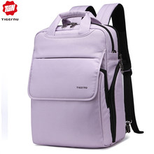"Tigernu Multifunction Women Pink Female Backpack Fashion Youth Style Shoulder 14.1""Laptop Bag Schoolbags for Teenager Girls Boys(China)"