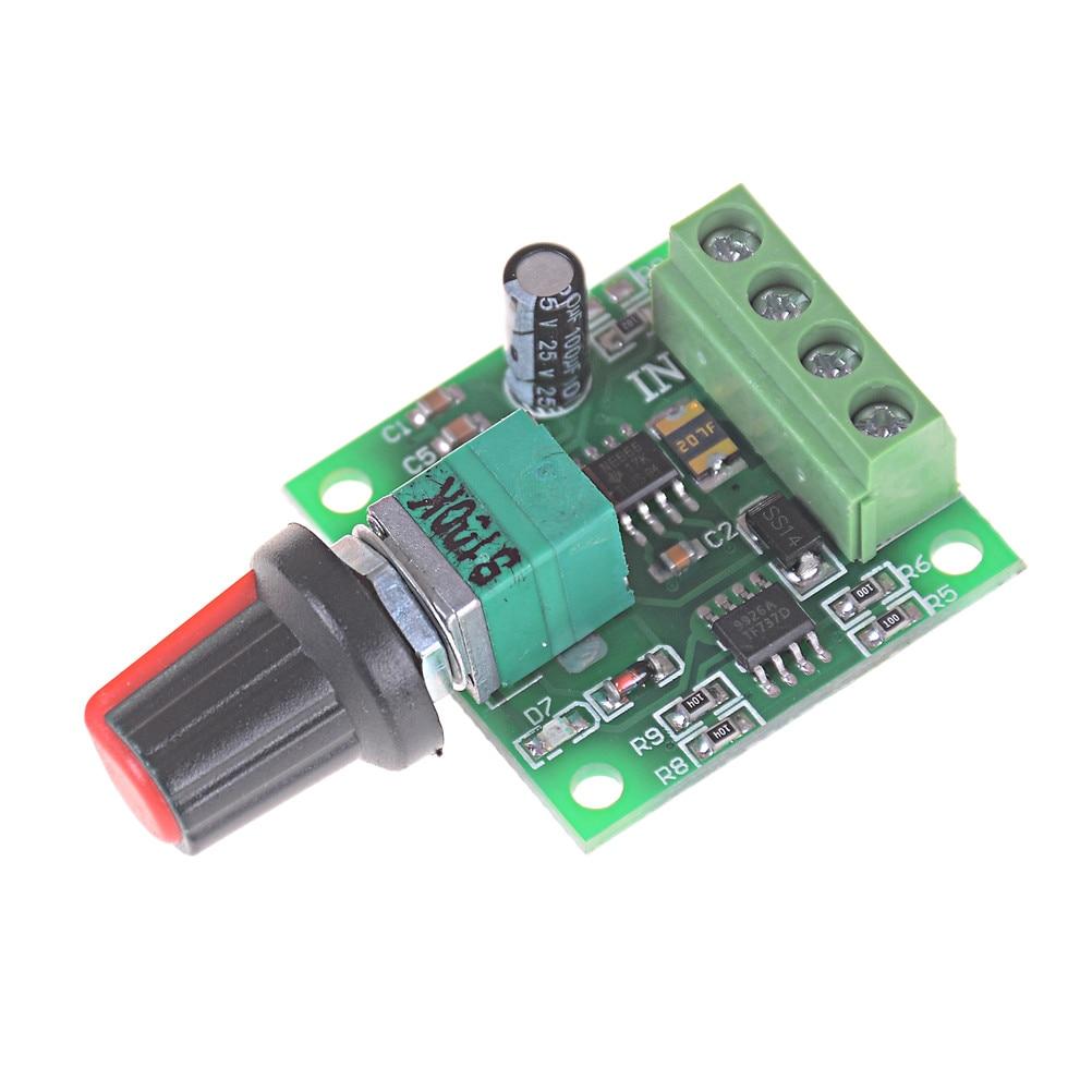 DC 1.8V 3V 5V 6V 12V 2A Low Voltage Motor Speed Controller PWM 1803B ^P