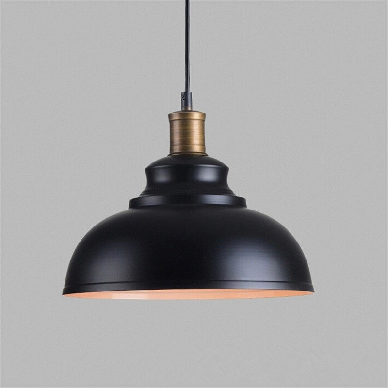 Retro E27 American Pendant lamp Creative Personality Restaurant Bar Stairs Decorative Iron Pot Industrial Wind Pendant Light american retro industrial pipes creative personality hallway stairs restaurant bar single head iron led wall lamp ac220v