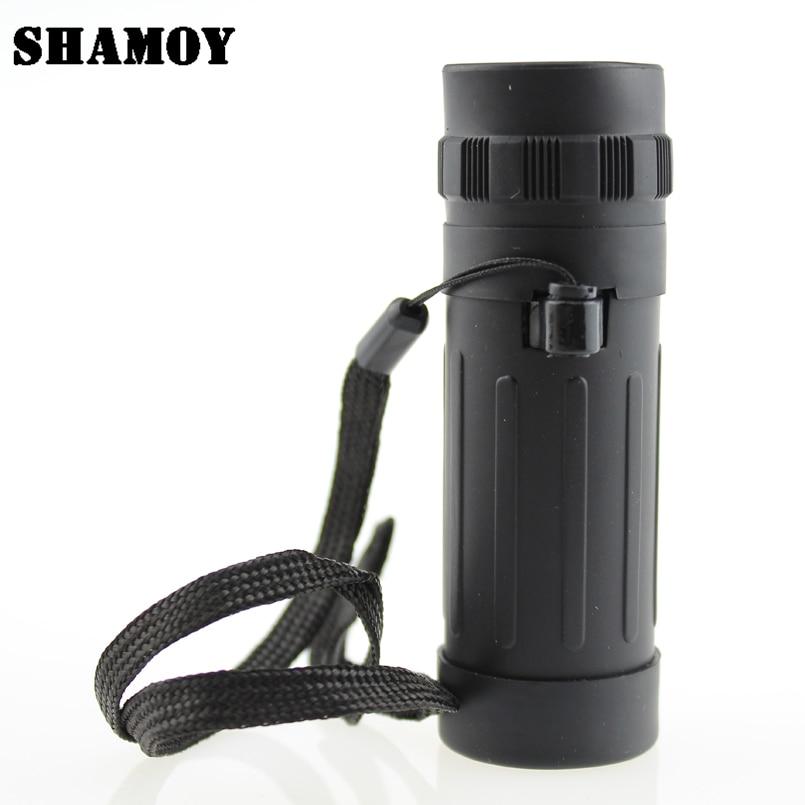 SHAMOY 8*21 High Magnification Monocular Telescopes Portable Single Telescope Outdoor Hunting Field Glasses M821