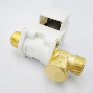 """Водный клапан DN15 G1/2 """", Соленоидный клапан 12 В, тип т-образного типа, 24В, 220 В, контроль катушки, внешняя винтовая нить"""