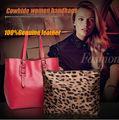 Высокое качество натуральная кожаная сумка мода женщин сумка дамы сумки бесплатная доставка