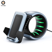 2018 New style High Power 10W Fast QI Charger wireless with led light for smart phone