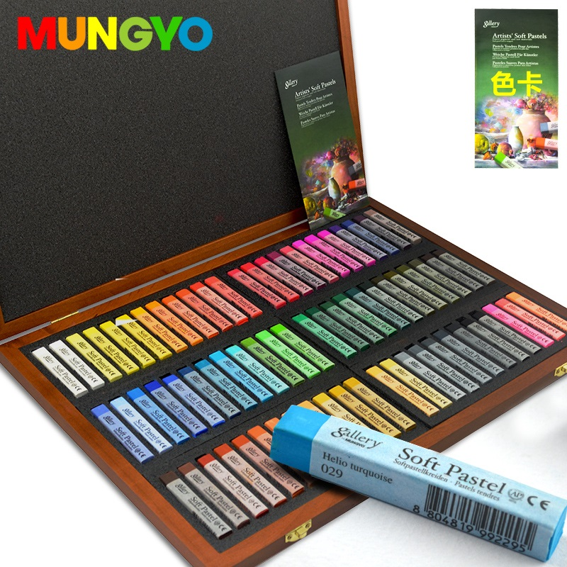 Soft Oil Pastel for Artist Mungyo Gallery Premium 12 Colors Drawing MOPV12