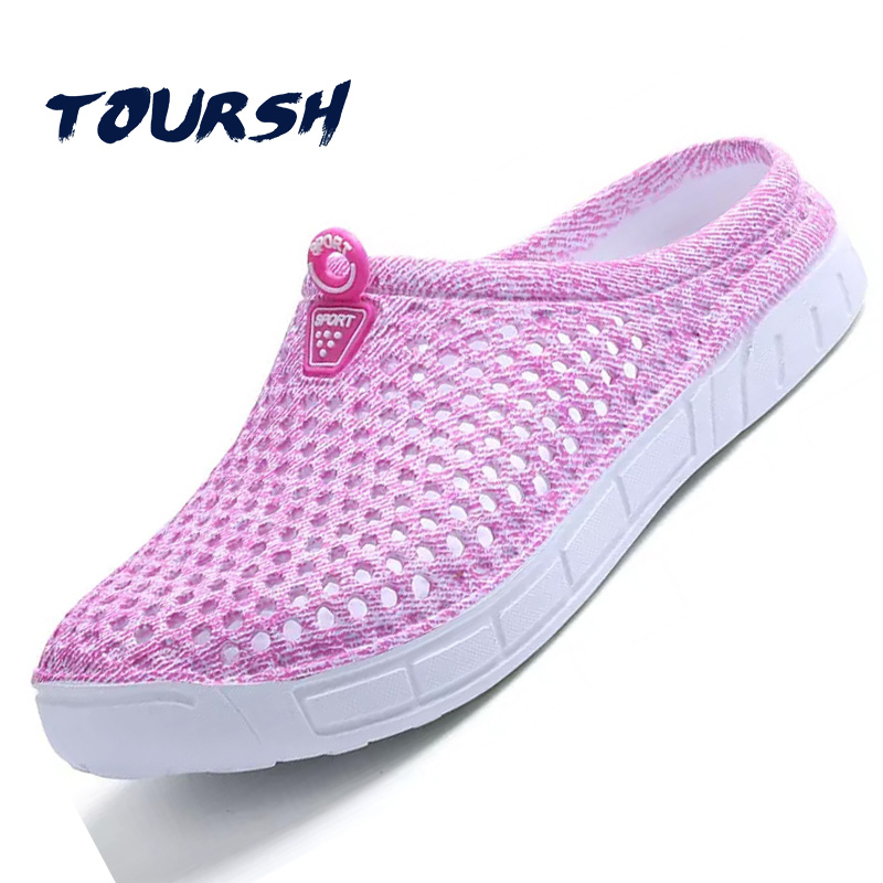 TOURSH Women Summer Jelly Shoes Beach Sandals Women Hollow Designer Slippers Flip Flops Women Light Sandalias Shoes Woman 2017