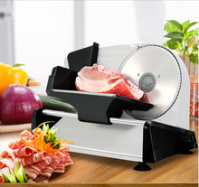 110/220V Home Meat Slicer Semiautomatic Electric Slicer Multifunction Meat Cutter for Commercial Fruits Ham Bread цена и фото