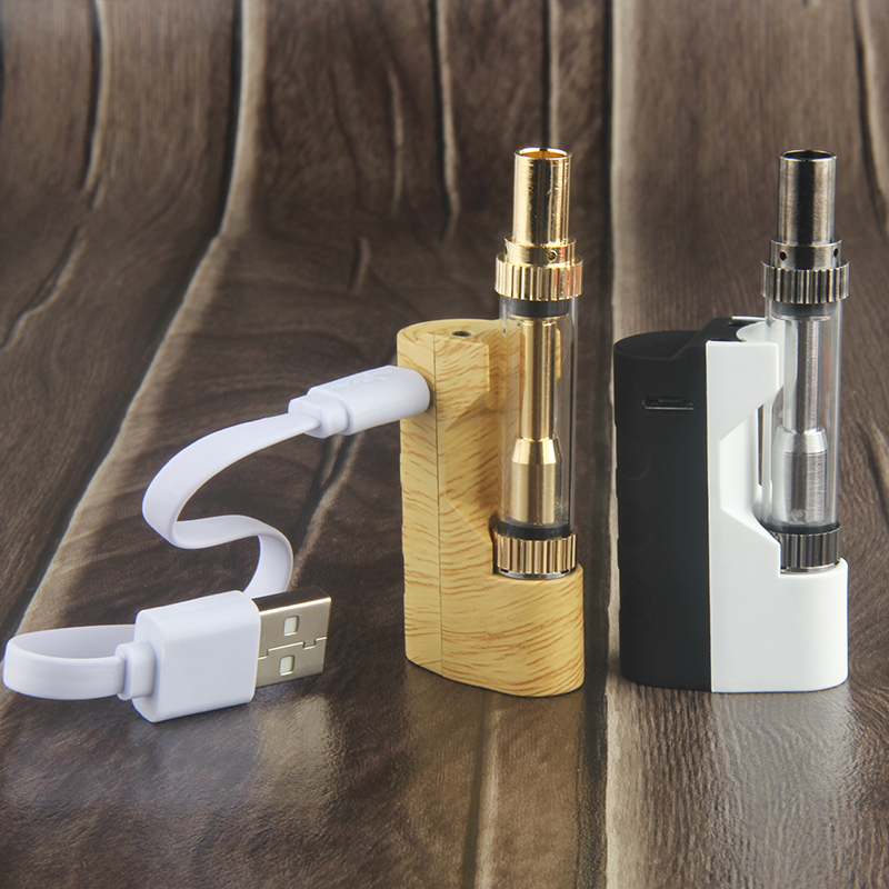 Li hui li Imini Box Mod Kit Thick Oil Cartridges Vaporizer Kit 500mAh Box Mod imini colorful  Atomizer Vape Preheat VV Mod
