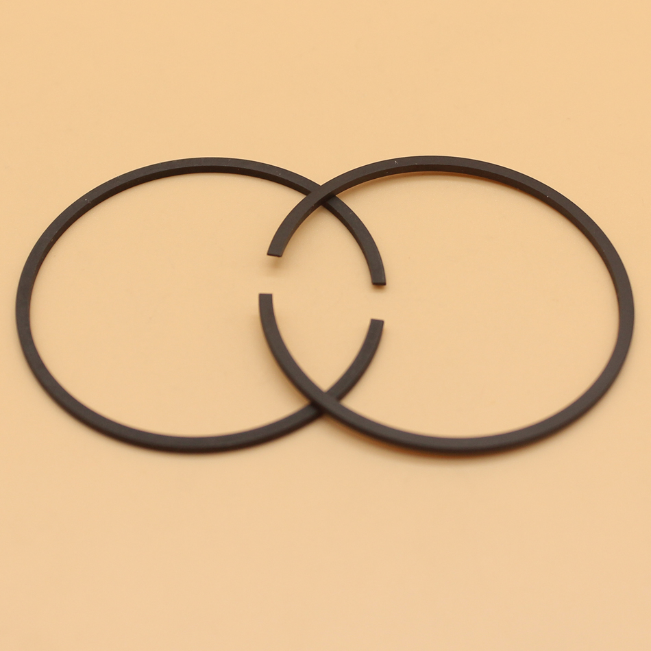 2Pcs/lot Piston Rings For Husqvarna 61 261 262 365 265RX 165RX #503 28 90-15 Chainsaw 48mm X 1.5mm