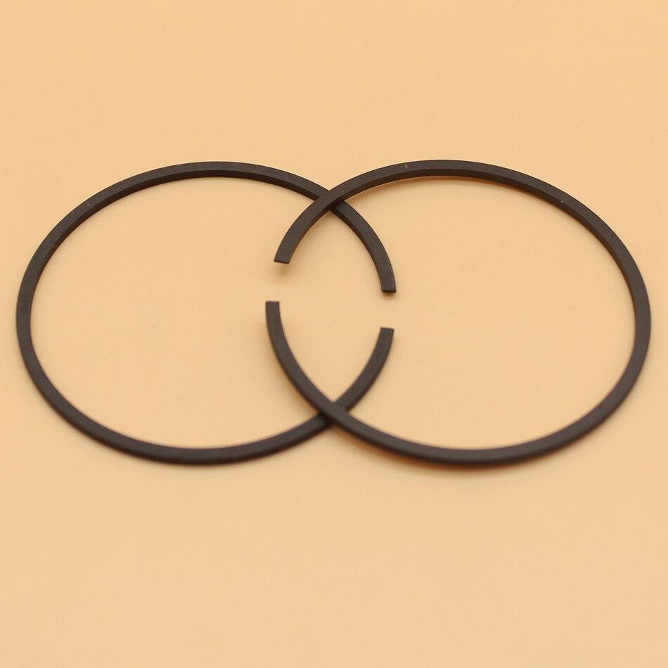 2Pcs/lot Piston Rings For Husqvarna 61 261 262 365 265RX 165RX #503 28 90-15 Chainsaw 48mm X 1.5mm