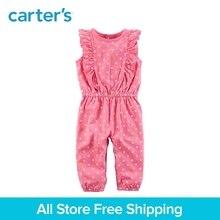 Carter's 1-piece baby children kids clothing girl spring&summer Flutter Floral polka dots Jumpsuit 118H956