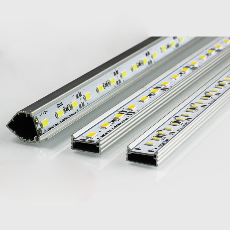 Hard Transparent Light Bar 1M 12LED Strip Bars Transparency New Arrival