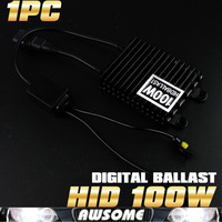 1PC 100W HID Slim Digital Xenon Ballast High Power Hid Ballast For H1 H3 H7 H8