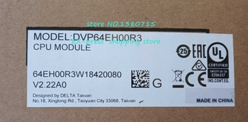 New Original DVP64EH00R2 Updated To DVP64EH00R3 PLC Warranty 1 Year