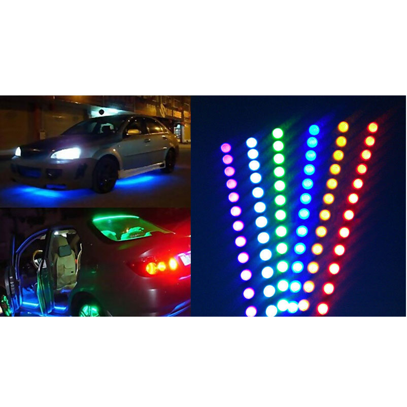 waterproof led super flexible car activated interior light daytime running lights soft strips. Black Bedroom Furniture Sets. Home Design Ideas