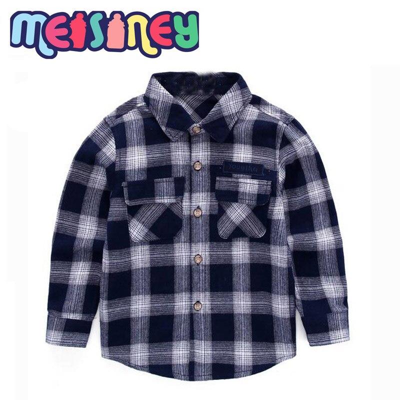 Shirt jongen 2018 nieuwe kinderleer voor jonge kinderen leisure - Kinderkleding - Foto 3