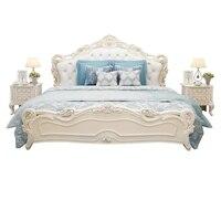 Maison современная спальня комплект каркас мебели Yatak отсаси Mobilya Ranza Тоторо кожа Кама Moderna Mueble де Dormitorio кровать