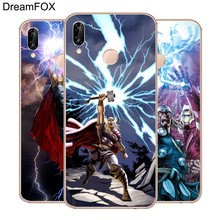 DREAMFOX M360 Thor Soft TPU Silicone Case Cover For Huawei Honor 6A 6C 7X 9 10 P20 Lite Pro P Smart 2019(China)