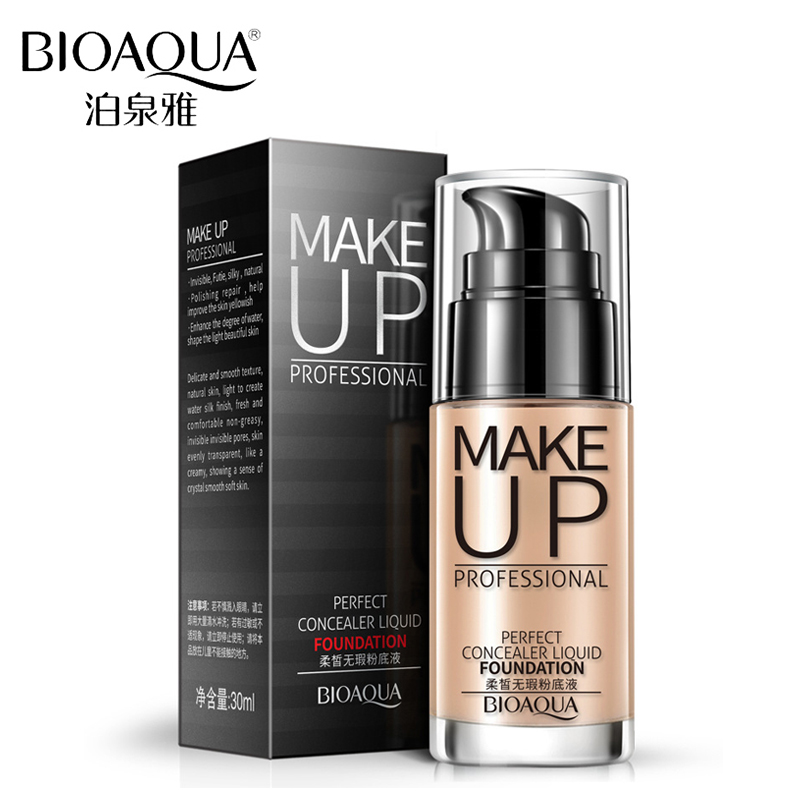 BIOAQUA Brand Liquid Foundation Liquid Concealer Face ...