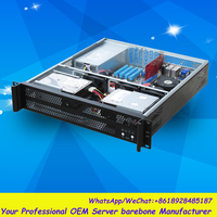 Flexible 2u Rack Mount Server Case RC2490