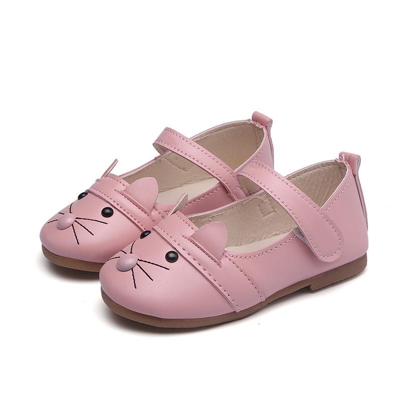 Children Shoes Girls Shoes 2017 Autumn Lovely Cat Bunny