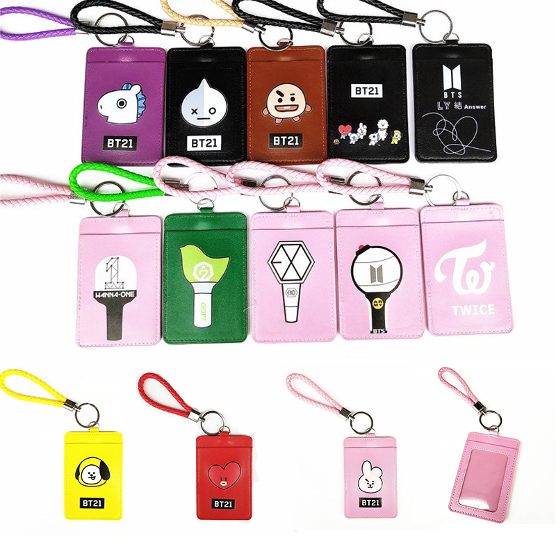 Office & School Supplies Lovely 2019 Kpop Bts Bangtan Boys Ly Answer Pu Card Holder Exo Got7 Twice Wanna One Same Id Card Cover In Many Styles