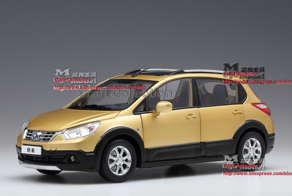 * 1:18 Dongfeng Nissan VENUCIA R50X 118 SUV Metal Model Car Gifts Model Car Kits Simulation Model Limited edition
