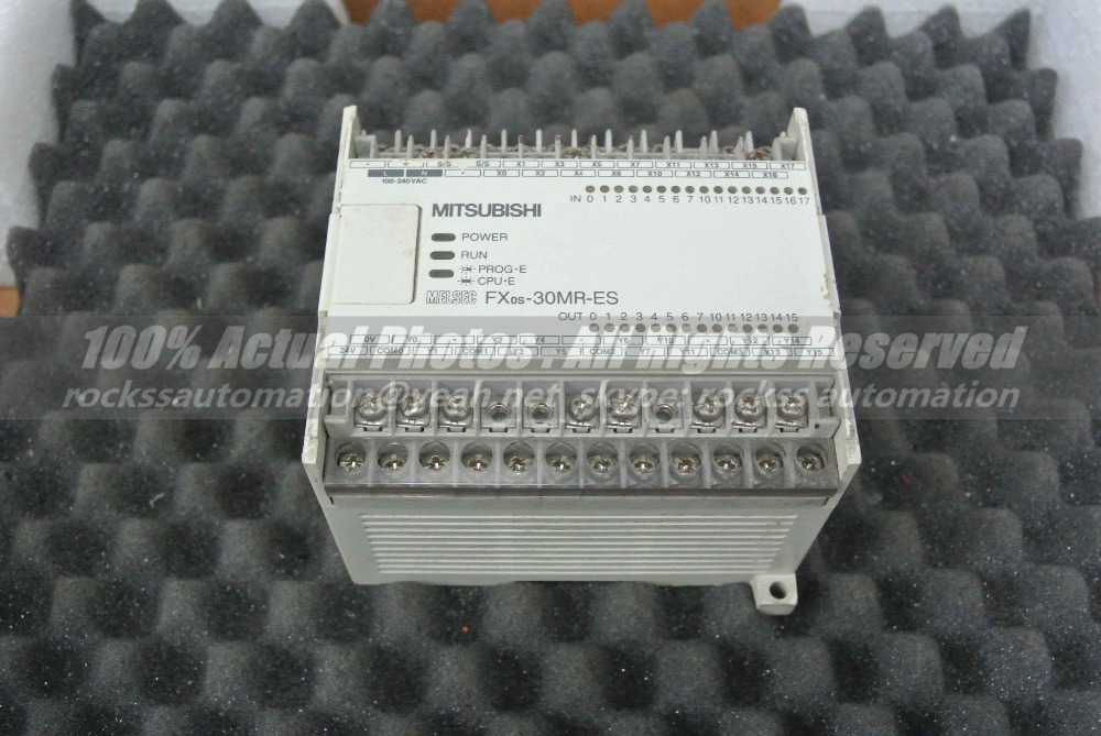 FXOS-30MR-ES/UL Used Good In Conditon With Free DHL / EMS dhl ems used keyence plc kv 40ar tested a2