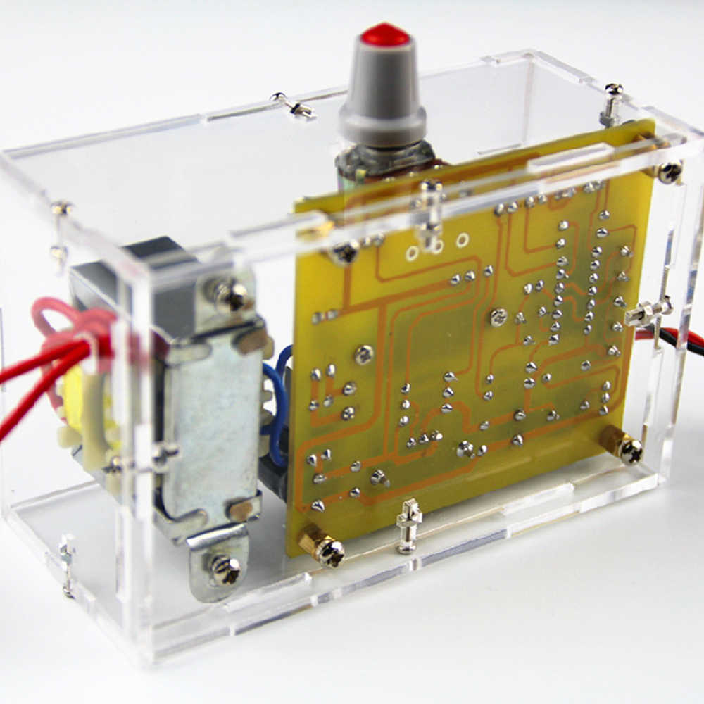 DIY Kit LM317 Регулируемый регулятор напряжения 1,20 V-12 V 2 W Питание модуль печатной платы электронный Наборы