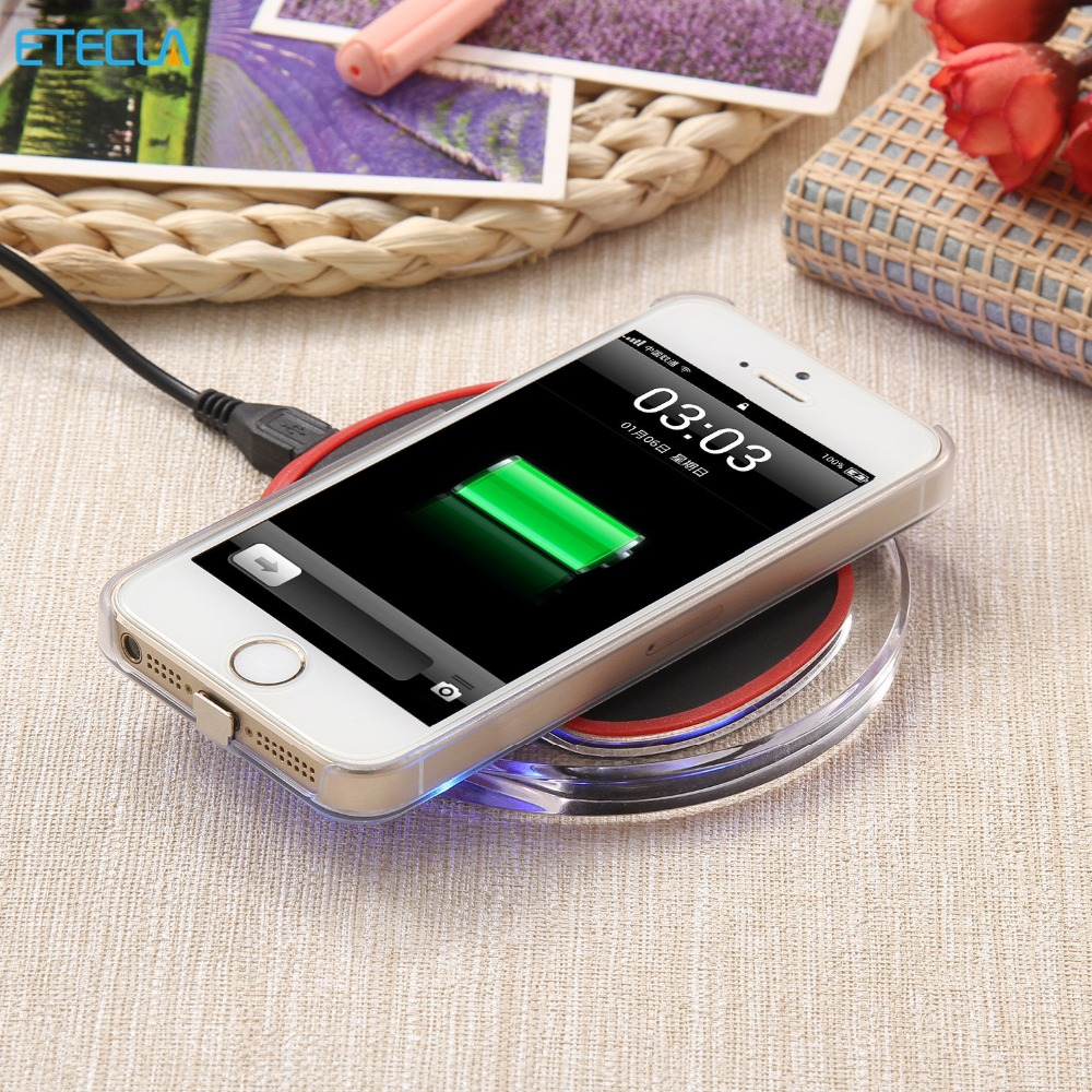 Qi Wireless <font><b>Charger</b></font> Charging Pad Original Wireless <font><b>Charger</b></font> For SAMSUNG GALAXY S6 S6 Edge S6 Edge Plus S7 S7 Edge Note 5