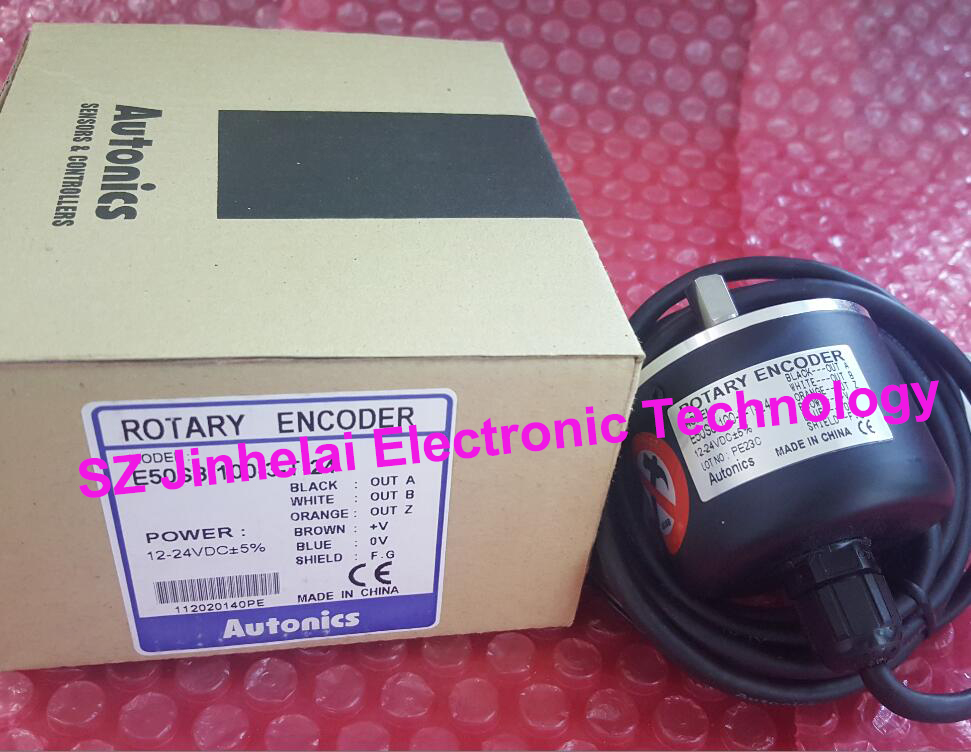 100% New and original E50S8-360-3-N-24, E50S8-60-3-T-24 AUTONICS Incremental rotary encoder rotary encoder e40hb8 360 3 n 24