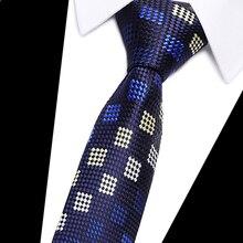 Men Paisley tie 7cm Business skinny ties Mens Fashion Corbatas Gravata Jacquard BowTie Wedding dress Shirt accessories neckties