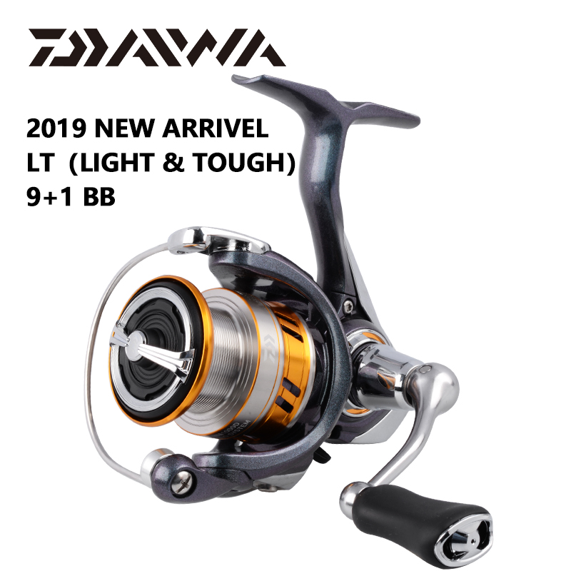 DAIWA REGAL LT fishing spinning reels 1000D 2000D 2500D 2500DXH 3000DC 3000DCXH 10BB Air Rotor Aluminum Spool Fishing wheels