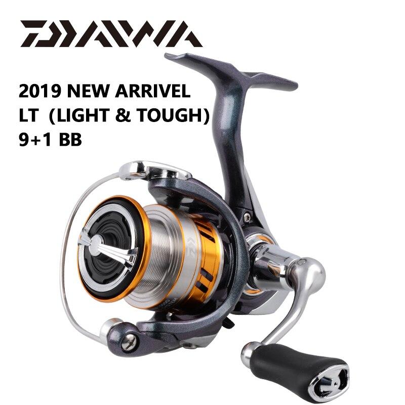DAIWA REGAL LT pêche spinning reels 1000D 2000D 2500D 2500DXH 3000DC 3000 DCXH 10BB Air Rotor Bobine En Aluminium De Pêche roues